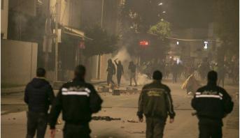 تونس: حملة اعتقالات غداة أعمال شغب شهدتها عدة مدن