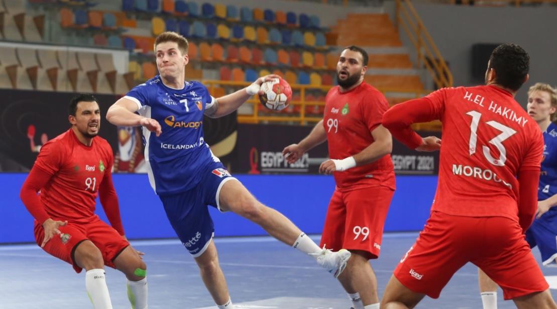 مونديال كرة اليد ... مسيرة المنتخب المغربي تتوقف عند دور المجموعات بعد هزيمة ثالثة أمام إيسلندا 31-23