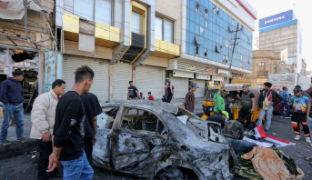 Une vingtaine de victimes dans un double attentat suicide dans le centre de Bagdad