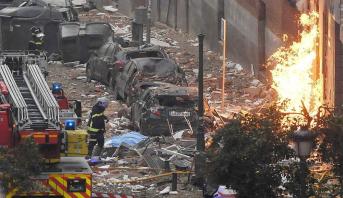 إسبانيا .. ارتفاع حصيلة ضحايا الانفجارفي مدريد إلى أربعة قتلى