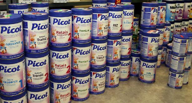 مجموعة لاكتاليس الفرنسية ستسحب 12 مليون علبة لحليب الأطفال في 83 بلدا