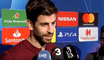 """بيكي يعود لانتقاداته و""""سخريته"""" من احتجاج ريال مدريد على التحكيم"""