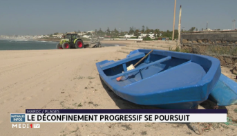 Maroc: les plages de Harhoura se préparent au déconfinement