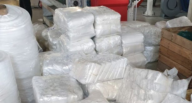 Mohammedia: saisie de plus de 5 tonnes de sacs en plastique prohibés