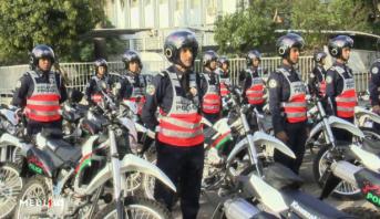 وحدة متنقلة لشرطة النجدة بولاية أمن طنجة