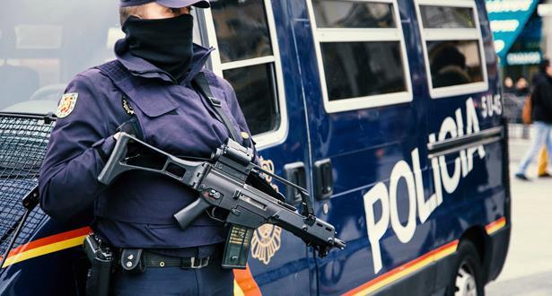 Arrestation près de Madrid d'un Marocain pour diffusion de propagande terroriste