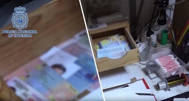 Espagne: démantèlement d'un important réseau de falsification de documents