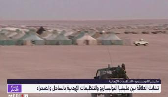 تشابك العلاقة بين مليشيا البوليساريو والتنظيمات الإرهابية بالساحل والصحراء