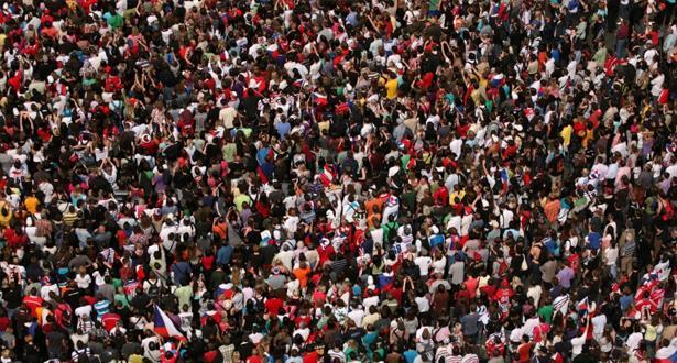 دراسة : عدد سكان العالم لن يتجاوز 8,8 ملايير نسمة سنة 2100