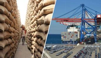 عمليات تزويد السوق بالحبوب عبر الموانئ الوطنية مستمرة في أحسن الظروف
