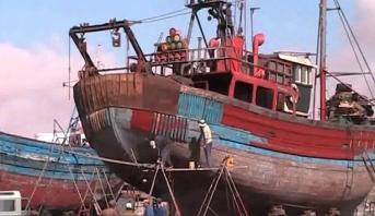 بدء التشغيل الفعلي للورش الجديد لإصلاح السفن بميناء الصويرة