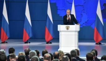 """بوتين يحذر : روسيا ستنشر صواريخ جديدة قادرة على بلوغ """"مراكز صنع قرار"""" معادية"""