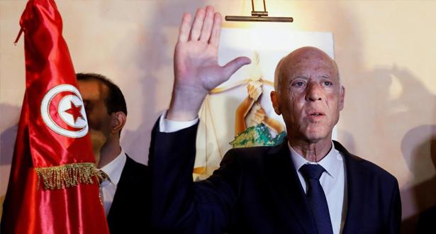 رسميا .. قيس سعيد رئيسا لتونس بعد حصوله على 72,71 في المائة من الأصوات