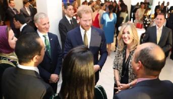 الأمير هاري وعقيلته يلتقيان بالرباط نساء مقاولات مغربيات ورياضيين من ذوي الاحتياجات الخاصة