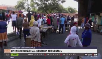 Afrique du Sud: distribution d'aides alimentaires aux ménages
