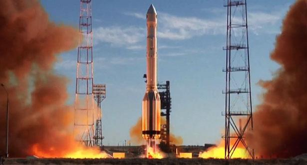 """إطلاق صاروخ """"بروتون_إم"""" الروسي الحامل للمرصد الفلكي """"سبيكتر إر جي"""" الفضائي"""