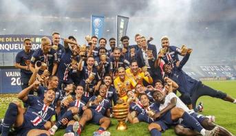 سان جرمان يحرز لقب كأس الرابطة الفرنسية