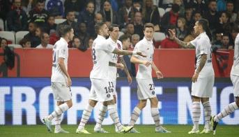 سان جرمان يبتعد في صدارة الدوري الفرنسي  برباعية في مرمى نيس