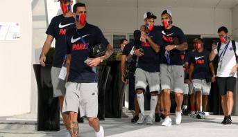 إصابة ستة لاعبين من باريس سان جيرمان بفيروس كورونا