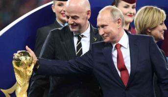 الهجمات الإلكترونية خلال مونديال 2018 .. بوتين يكشف عن رقم صادم