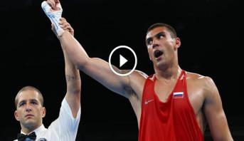 فيديو .. حارس بوتين الشخصي يحرز ذهبية أولمبية في الملاكمة
