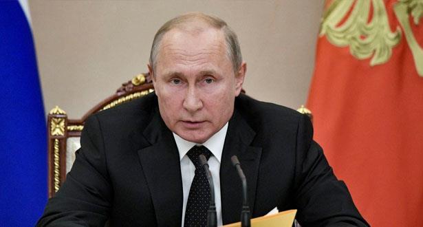 """بوتين يتوعد بـ""""رد متكافئ"""" مع التجربة الصاروخية الأمريكية"""