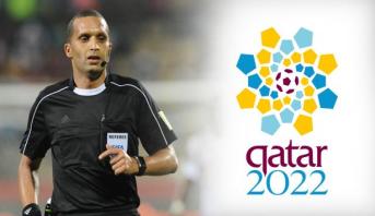 الحكم المغربي رضوان جيد ضمن قائمة الحكام الأفارقة المرشحين لمونديال قطر 2022
