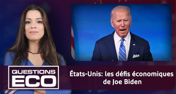 États-Unis: les défis économiques de Joe Biden