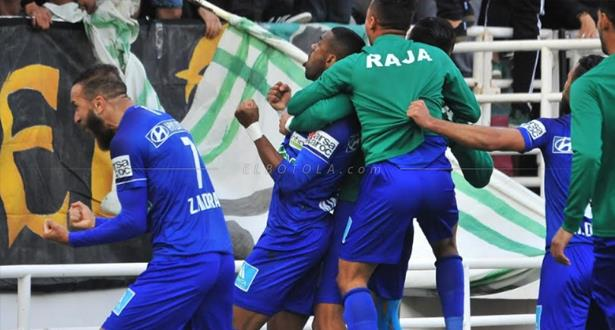 Botola: victoire du Raja de Casablanca face au Chabab Rif Al Hoceima