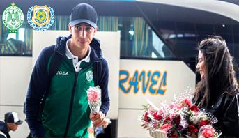 """قبل مواجهة """"برازيل مصر"""" .. الورود الحمراء في استقبال الرجاء"""