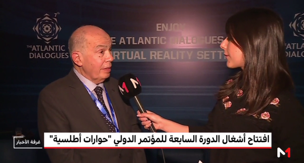 """فتح الله ولعلو يتحدث لميدي1 تيفي عن أهمية المؤتمر الدولي """"حوارات متوسطية"""""""