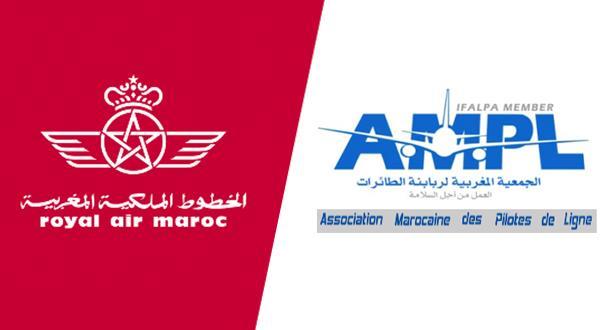 توقيع اتفاق بين الخطوط الملكية المغربية وجمعية ربابنة الطائرات
