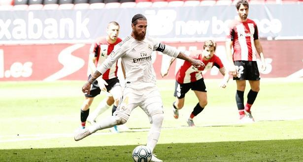"""راموس يمنح الريال فوزا """"هائلا"""" وفارق سبع نقاط عن برشلونة"""