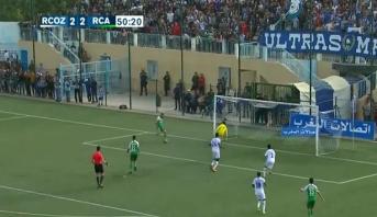 6 أهداف في مباراة الرجاء وواد زم