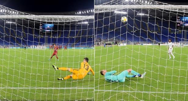 فيديو.. ريال مدريد يخسر وديا أمام روما بركلات الترجيح