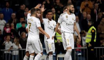 فيديو .. ريال مدريد يكتسح جاره ليغانيس ويضيق الخناق على غريمه برشلونة