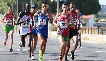 الألعاب الإفريقية .. فضية وبرونزية للمغربيين العرابي والسهلي في نصف الماراطون