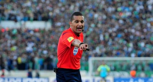 الحكم المغربي رضوان جيد ضمن قائمة الفيفا لحكام مباريات كأس العرب بقطر