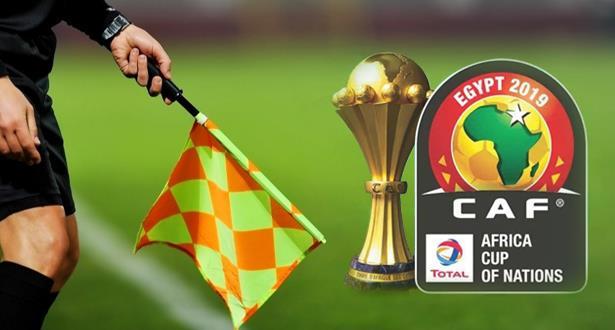 CAN 2019: quatre arbitres marocains retenus