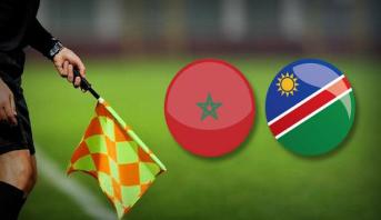 CAN: la CAF désigne l'arbitre du match Maroc-Namibie