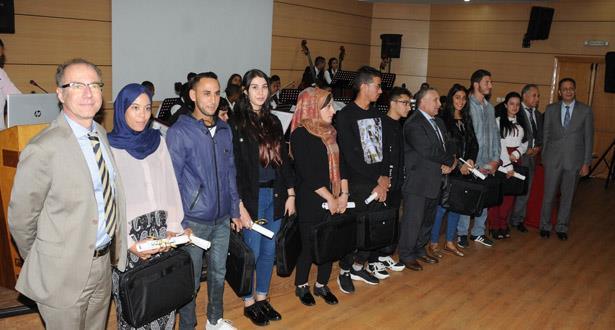 تكريم لاجئين حصلوا على نتائج ممتازة في شهادة البكالوريا المغربية
