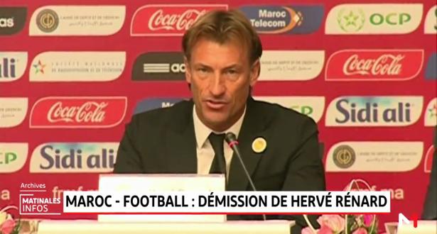 Football: Voici en exclusivité les détails du départ d'Hervé Renard