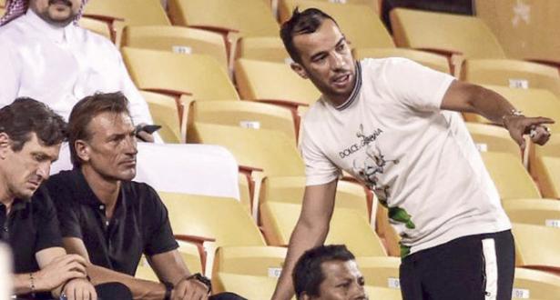 الصحافة السعودية تكشف الحوار بين نجم الجزائر ورونار!