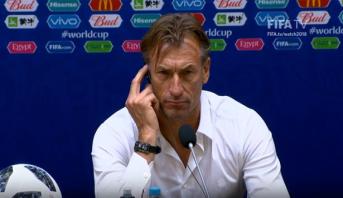 الندوة الصحفية لهيرفي رونار وفرناندو هييرو عقب مباراة المغرب واسبانيا