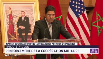 Renforcement de la coopération militaire entre le Maroc et les Etats unis