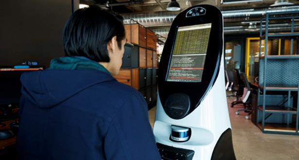 مكسيكو : روبوت صغير يتفقد مرضى كوفيد-19 ويمدهم بالدعم النفسي