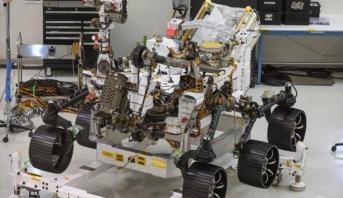 الناسا تطلق روبوتا بحثا عن جراثيم في المريخ