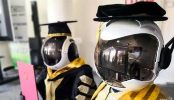 جامعة ماليزية قد تستبدل الطلاب بروبوتات في حفلة التخرج