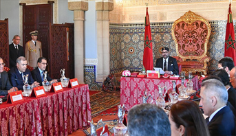 الملك محمد السادس يترأس مجلسا وزاريا