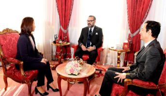 الملك محمد السادس يستقبل الرئيسة الجديدة لهيأة الإدارة الجماعية لصندوق الحسن الثاني للتنمية الاقتصادية والاجتماعية